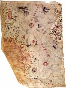 Carte du monde de Piri Reis