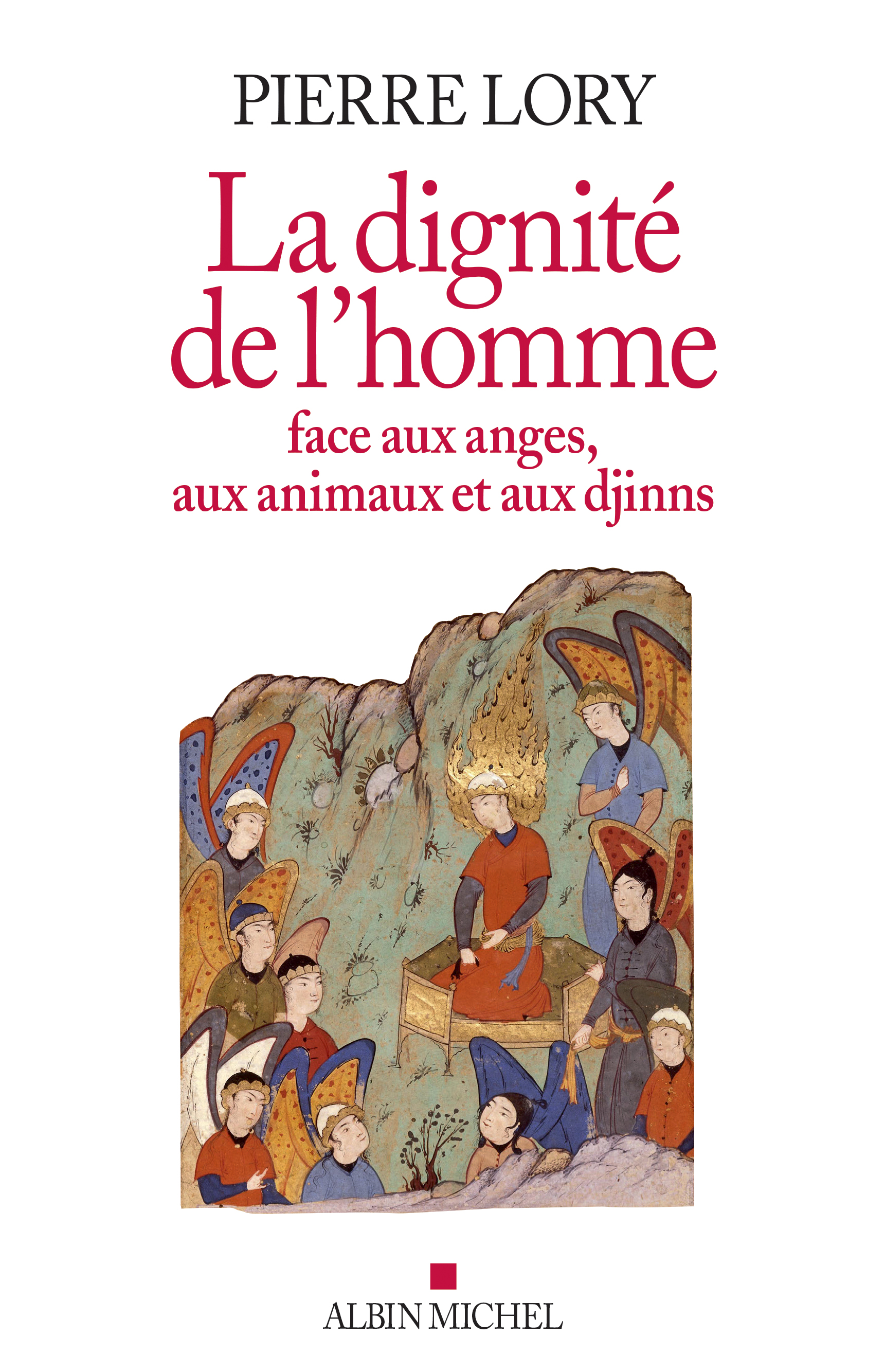 Couverture de La Dignité de l'homme face aux anges, aux animaux et aux djinns